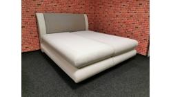 Nová krémová boxspring postel 180