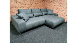 Nová šedá rohová sedačka rozkládací FILIS DE LUXE
