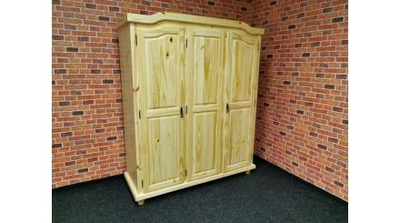 Nová stylová skříň BERN borovice