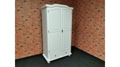 Nová bílá stylová skříň REUTE borovice