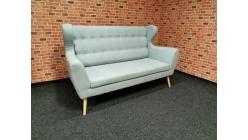 Nový modrý stylový gauč ušák