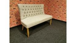 Nová stylová lavice béžová HENNING