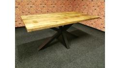 Nový stylový masiv jídelní stůl JESSE mango