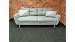 Nový bledě modrý retro gauč HARRIS