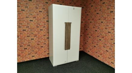 Nová bílá skříň lesk malá
