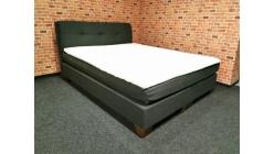 Nová značková černá boxspring postel
