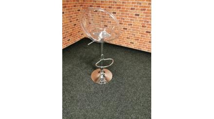 Nová barová židle SPHERE transparentní