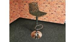 Nová barová židle GROOVE moka