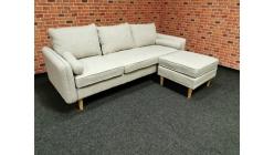 Nový krémový gauč-rohová sedačka QUINN