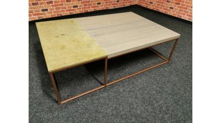 Nový konferenční stůl industrial bronz