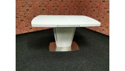 Nový malý bílý jídelní stůl DAMIAN