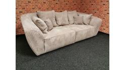 Nové manšestrové big sofa SAVITA oblé