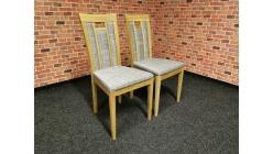Nová 2x šedohnědá židle WOHNWERT