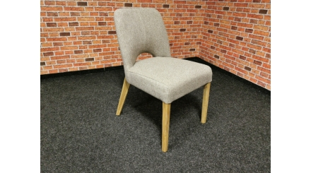 Nová retro židle béžová