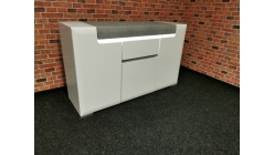 Nová šedobílá skříňka PURO
