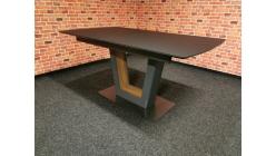 Nový šedohnědý jídelní stůl LANCE