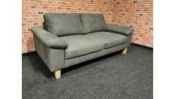 Nový tmavě šedý gauč nohy dřevo