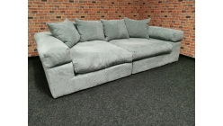 Nové manšestrové big sofa LIONORE mentol