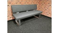 Nová šedomodrá kuchyňská lavice