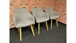 Nové 3x krémové křesílko židle MURON