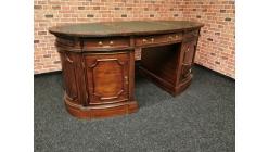 Stylový psací stůl OXFORD mahagon