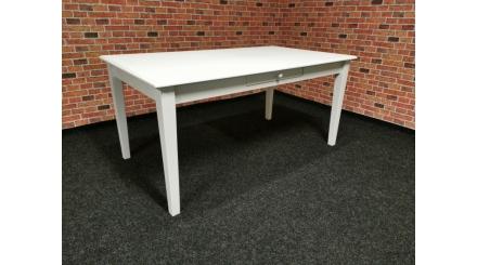Nový bílý stylový jídelní stůl MUSLONE
