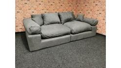 Nové big sofa LIONORE tmavě šedé
