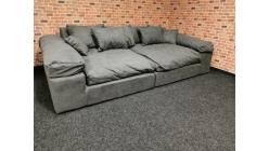 Nové big sofa LIANEA tmavě šedé