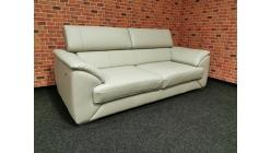 Nový kožený relax gauč VERO světlý