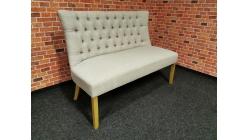 Nová stylová lavice HENNING knoflíky