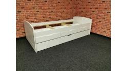Nová bílá stylová postel dřevo MARINELLA