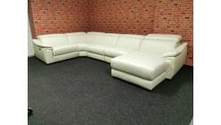 Nová kožená luxusní relax sedačka účko CLOUD