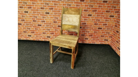 Nová stylová židle DEHLI masiv mango