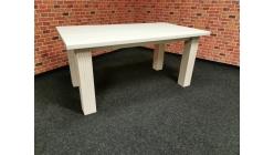 Nový bílý stylový jídelní stůl BORNHOLM masiv