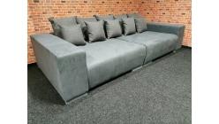 Nové šedé big sofa MAXIMA