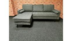 Nová šedá rohová sedačka-gauč QUINN