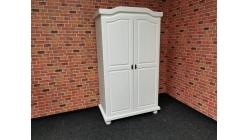 Nová bílá stylová skříň dřevo LINCOLN