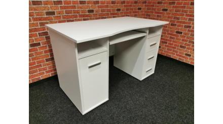 Nový bílý psací stůl ILMENAU