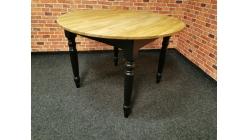 Kulatý stylový jídelní stůl dub BOZEN