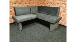 Nová šedá rohová lavice kuchyňská