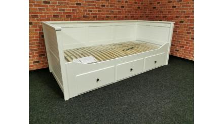 Nová bílá postel MELANIE UNO