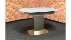 Nový jídelní stůl DARIAN sklo kov