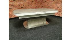 Nový šedobílý konferenční-jídelní stůl SIZILIEN