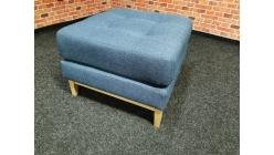 Nový modrý taburet TULSA